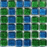 10mm Peacock Feather - 81 Tiles