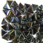 10mm Triangle - Black Pearlised - 50g