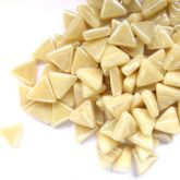 10mm Triangle - Ivory Pearlised - 50g
