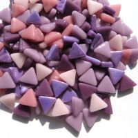 10mm Triangle - Pansy - 50g