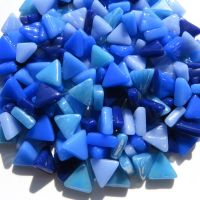10mm Triangles - Blue Skies - 50g
