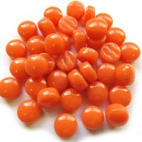 12mm Round Drops - Apricot Gloss - 50g