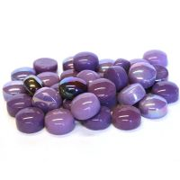 12mm Round Drops - Berry Satin - 50g