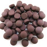 12mm Round Drops - Brown Matte - 50g