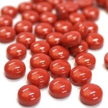 12mm Round Drops - Chilli Red Gloss - 50g