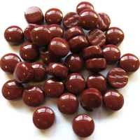 12mm Round Drops - Claret Gloss - 50g