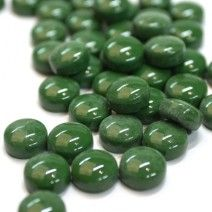 12mm Round Drops - Forest Green Gloss - 50g