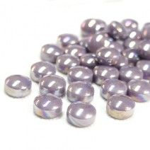 12mm Round Drops - Lilac Pearlised - 50g