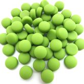12mm Round Drops - Lime Matte - 50g