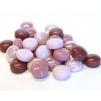 12mm Round Drops - Pretty in Pink - 50g