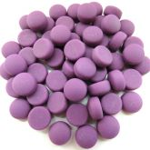 12mm Round Drops - Purple Matte - 50g