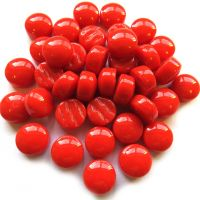 12mm Round Drops - Red Gloss - 50g