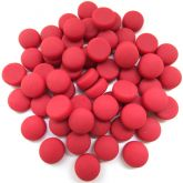 12mm Round Drops - Red Matte - 50g