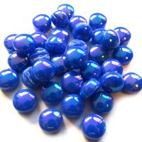 12mm Round Drops - Royal Blue Pearlised - 50g