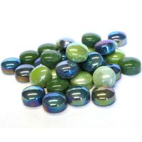 12mm Round Drops - Tree Hugger Green - 50g