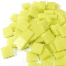 12mm Square Tiles - Citron Matte - 50g