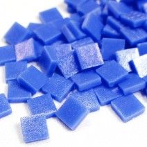 12mm Square Tiles - Cornflower Blue Matte - 50g