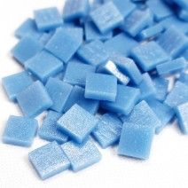 12mm Square Tiles - Delphinium Blue Matte - 50g