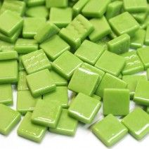 12mm Square Tiles - Green Grass Gloss - 50g