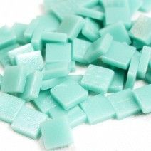 12mm Square Tiles - Jade Green Matte - 50g
