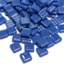 12mm Square Tiles - Kingfisher Blue Gloss - 50g