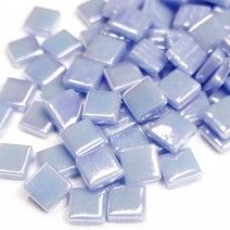 12mm Square Tiles - Lavender Pearlised - 50g
