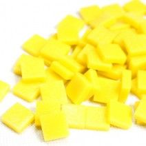 12mm Square Tiles - Lemon Matte - 50g