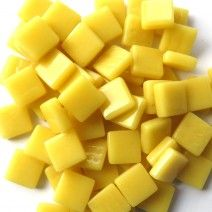 12mm Square Tiles - Lemon Sherbet Gloss - 50g
