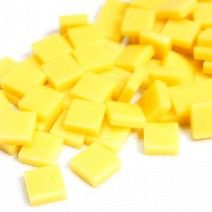 12mm Square Tiles - Lemon Sherbet Matte - 50g