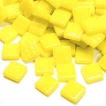 12mm Square Tiles - Lemon Tart Gloss - 50g