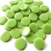18mm Round - Apple Green Gloss - 50g