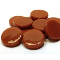 18mm Round - Caramel Gloss - 50g