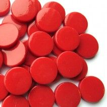 18mm Round - Chilli Red Gloss - 50g