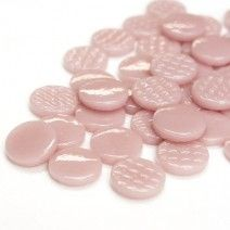 18mm Round - Dusky Pink Gloss - 50g