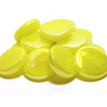 18mm Round - Lemon Tart Pearlised - 50g