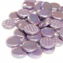 18mm Round - Lilac Pearlised - 50g