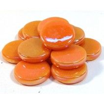 18mm Round - Orange Pearlised - 50g
