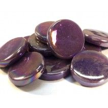 18mm Round - Purple Pearlised - 50g