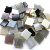 20mm Square Mix - Serenity - 100g