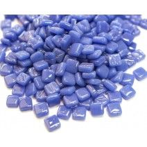 8mm Square Tiles - Delphinimum Blue Gloss - 50g