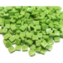 8mm Square Tiles - Green Grass Matte - 50g