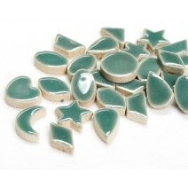 Ceramic Charm - Teal Green - 50g
