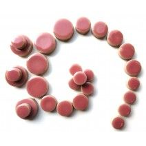 Ceramic Discs - Dusty Rose - 50g