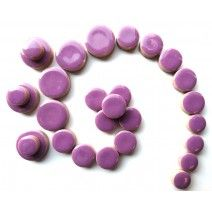 Ceramic Discs - Purple - 50g