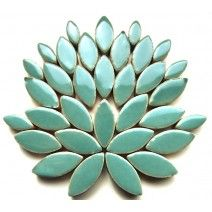 Ceramic Petal - Teal Green - 50g