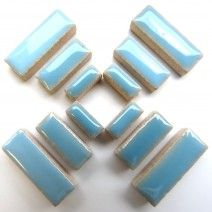 Ceramic Rectangle - Azure - 50g