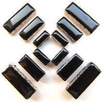 Ceramic Rectangle - Black - 50g
