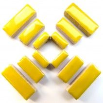 Ceramic Rectangle - Citrus Yellow - 50g