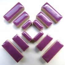 Ceramic Rectangle - Pretty Purple - 50g
