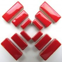 Ceramic Rectangle - Red - 500g